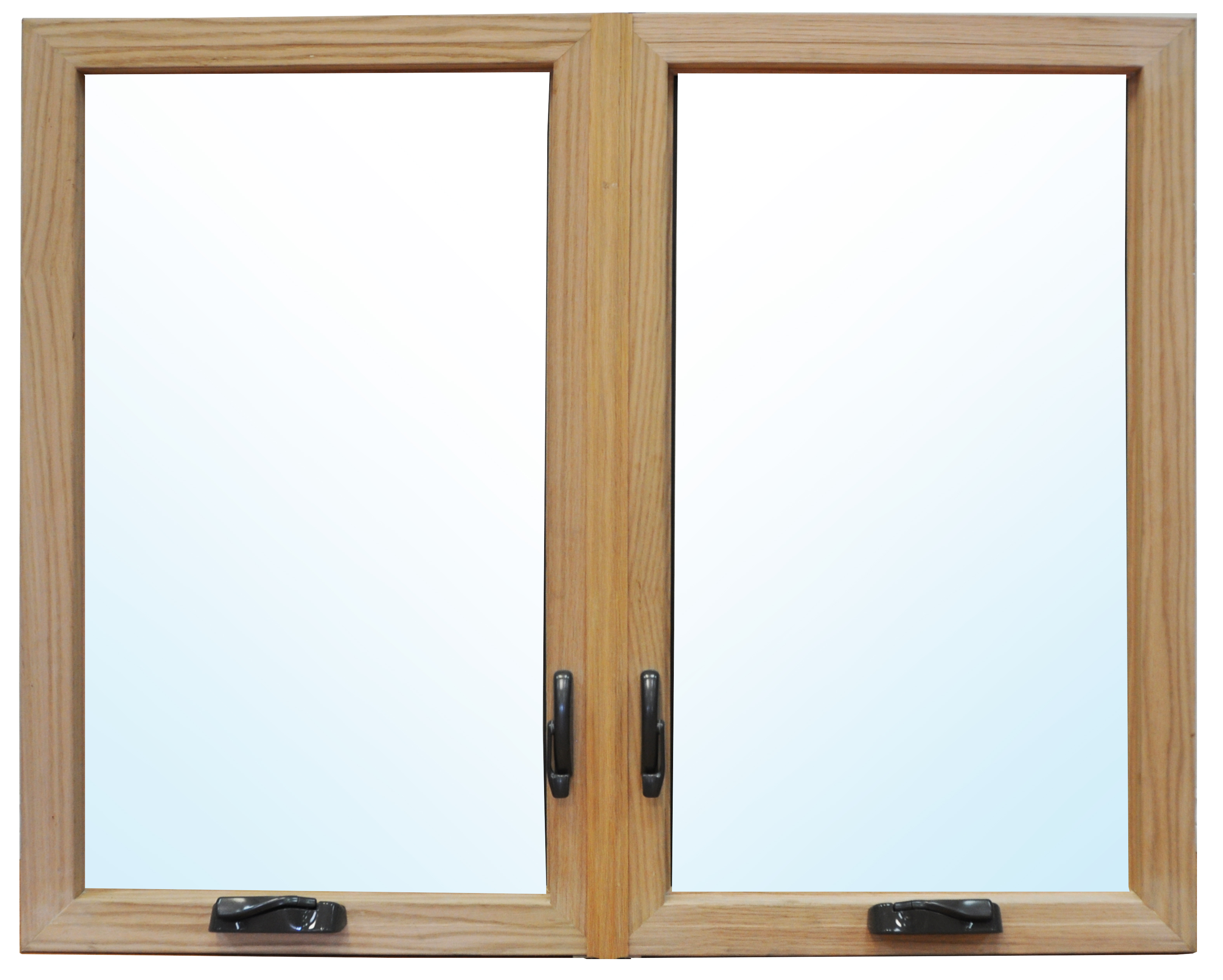300 series wood clad fiberglass casement window fibertec