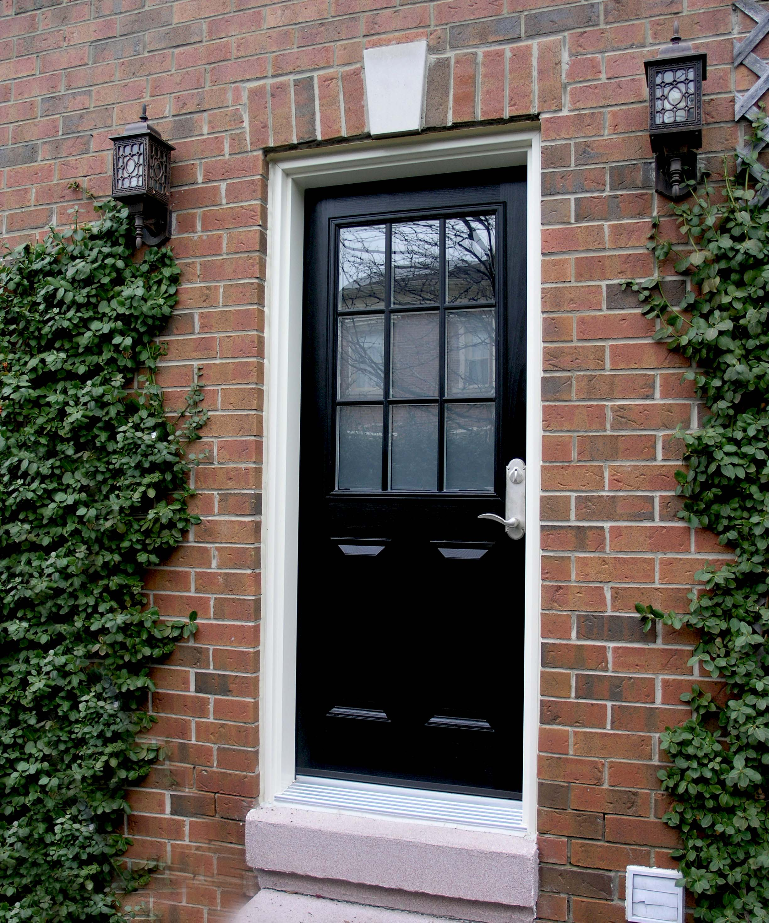 2940 #6E4B3C 200 Series Insulated Steel Entrance Doors Fibertec Windows & Doors  picture/photo Steel Insulated Exterior Doors 40692448