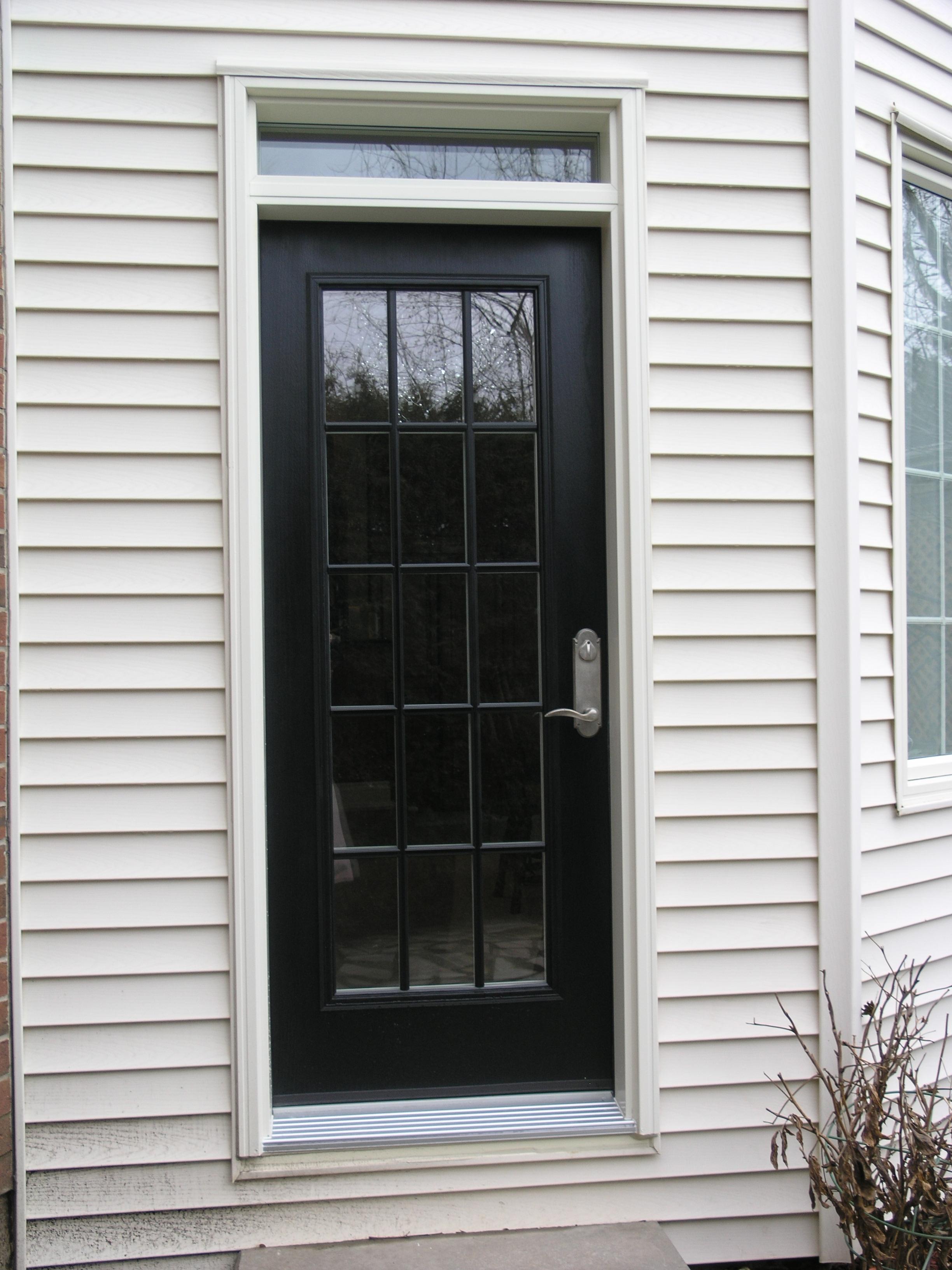 3264 #556776 200 Series Insulated Steel Entrance Doors Fibertec Windows & Doors  picture/photo Steel Insulated Exterior Doors 40692448