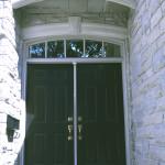 Energy efficient fiberglass doors