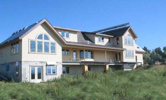 South facing fiberglass windows