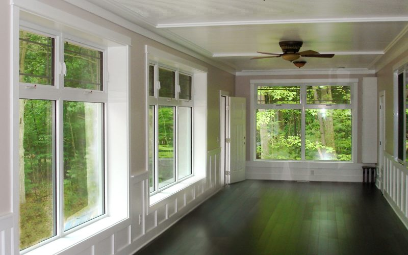 Fiberglass windows, triple glazed windows